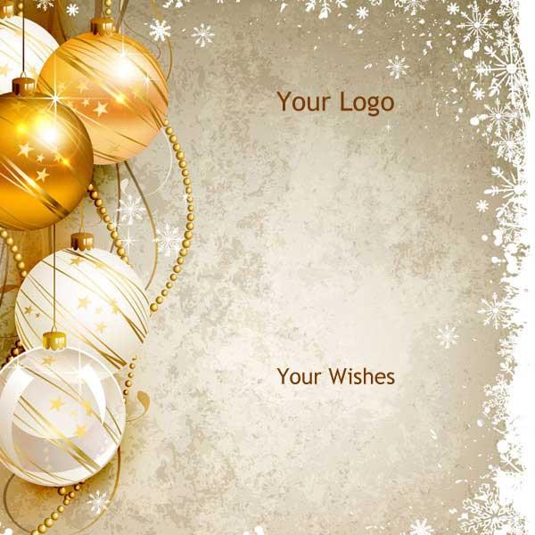 Χρυσά Χριστουγεννιάτικα Στολίδια